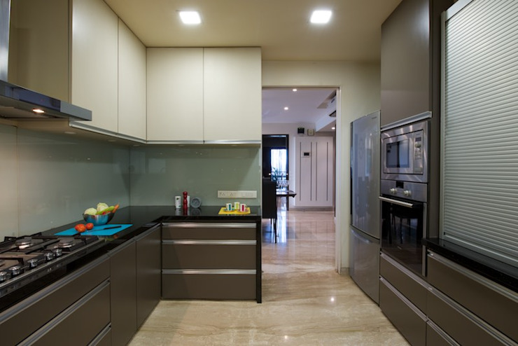 AS Apartment Modern kitchen by Atelier Design N Domain Modern