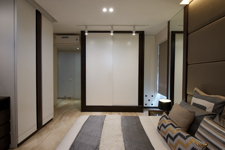 AS Apartment Modern style bedroom by Atelier Design N Domain Modern