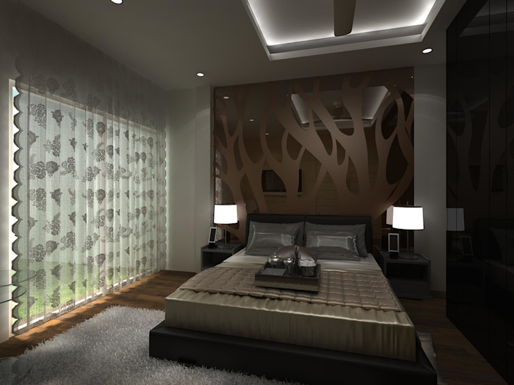 Bedroom by Indeera Builders Private Limited