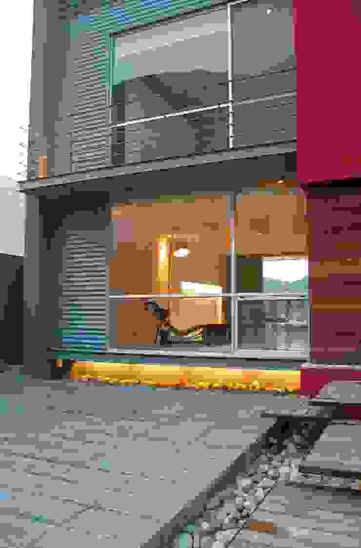 CASA MD PRIVANZAS Casas modernas de planeta diseño + construcción SA de CV Moderno