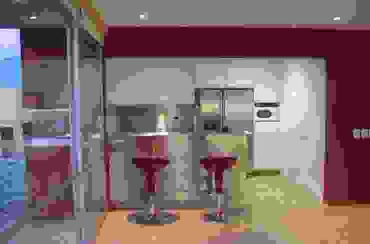 CASA MD PRIVANZAS Cocinas modernas de planeta diseño + construcción SA de CV Moderno