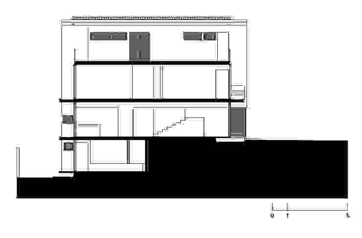 CASA MD PRIVANZAS de planeta diseño + construcción SA de CV Moderno