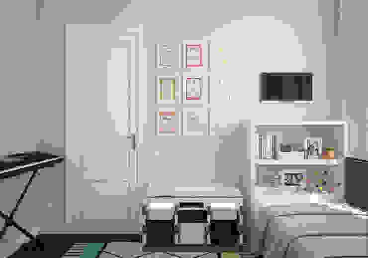 """Детская. """"Американская классика"""" Детские комната в эклектичном стиле от «Студия 3.14» Эклектичный"""