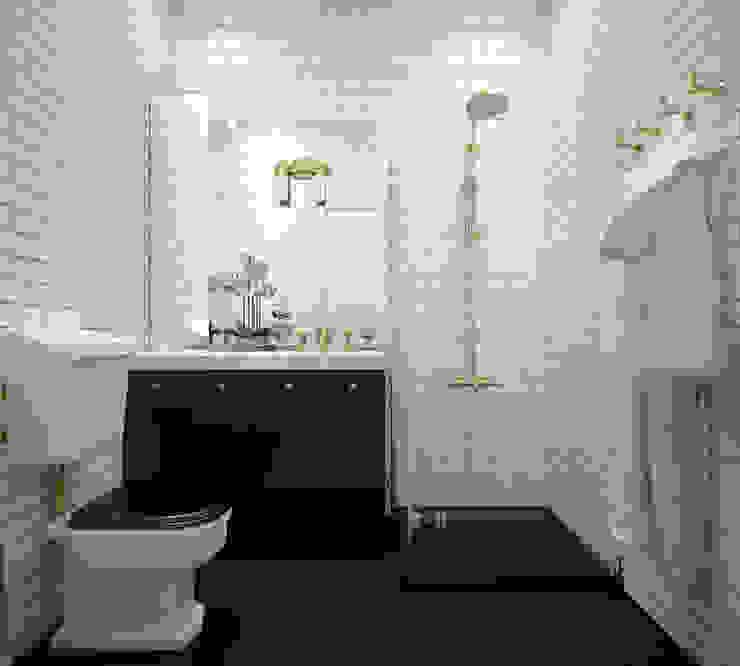 """Ванная. """"Американская классика"""" Ванная комната в эклектичном стиле от «Студия 3.14» Эклектичный"""