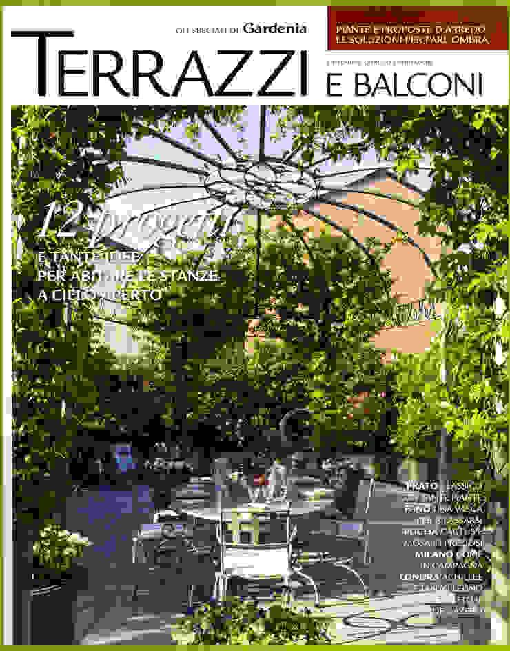 Copertina Terrazzi e Balconi . Gli speciali di Gardenia - Cairo editore Balcone, Veranda & Terrazza in stile classico di MASSIMO SEMOLA PROGETTAZIONE GIARDINI MILANO Classico