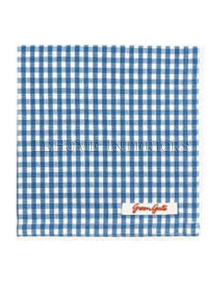 Салфетка GreenGate Ida Blue G005 от LeHome Interiors Классический Текстиль Янтарный / Золотой