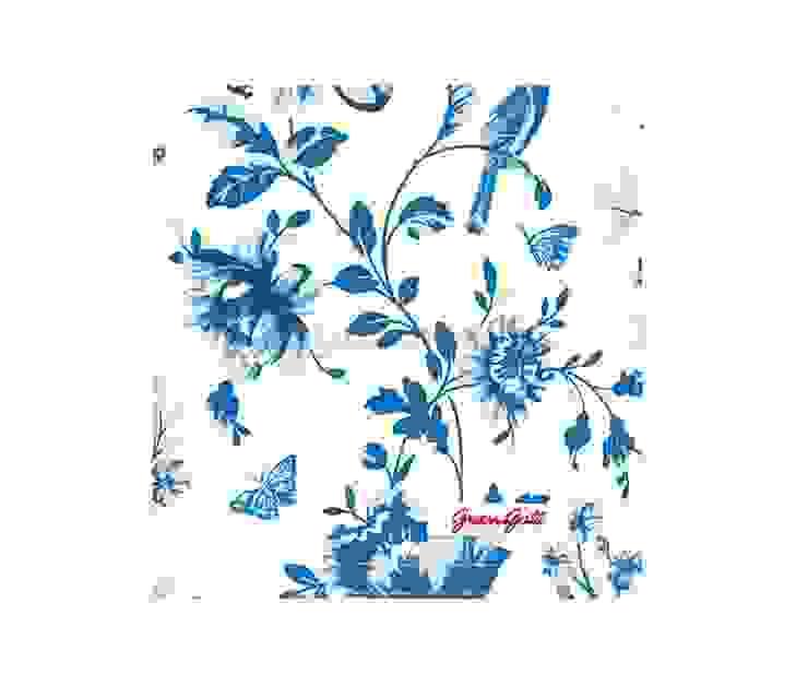 Салфетка GreenGate Penelope Blue G011 от LeHome Interiors Классический Текстиль Янтарный / Золотой