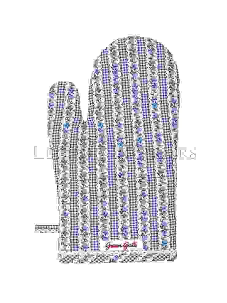 Варежка-прихватка для горячего GreenGate Dicte Indigo G023 от LeHome Interiors Классический Текстиль Янтарный / Золотой