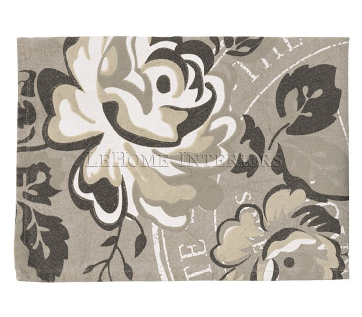 Полотенце GreenGate Dora Linen G078 от LeHome Interiors Классический Текстиль Янтарный / Золотой