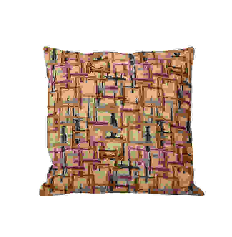Подушка V1031 от LeHome Interiors Классический Текстиль Янтарный / Золотой