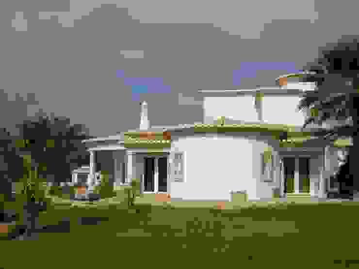 Saneamento de problemas de humidade Casas mediterrânicas por RenoBuild Algarve Mediterrânico