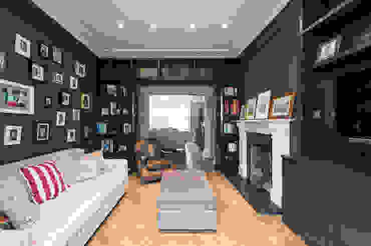 Full renovation on Trinity Road, London Modern media room by Grand Design London Ltd Modern