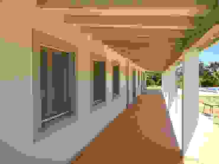 Isolamento Térmico pelo exterior RenoBuild Algarve Casas mediterrânicas