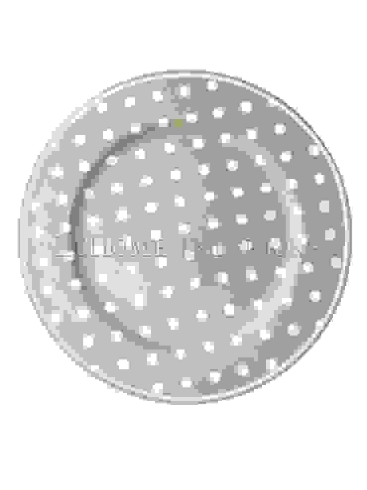 Тарелка большая GreenGate Naomi Beige G034 от LeHome Interiors Классический Керамика