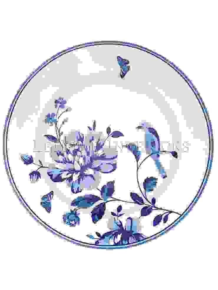 Тарелка GreenGate Penelope Blue G049 от LeHome Interiors Классический Керамика