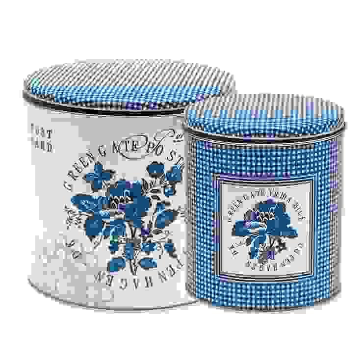 Коробка (набор из 2 шт) GreenGate Frida Blue G065 от LeHome Interiors Классический Металл