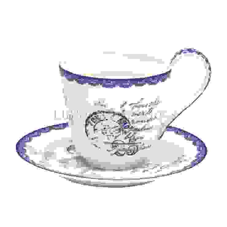 Кофейная пара GreenGate Fay White G098 от LeHome Interiors Классический Керамика