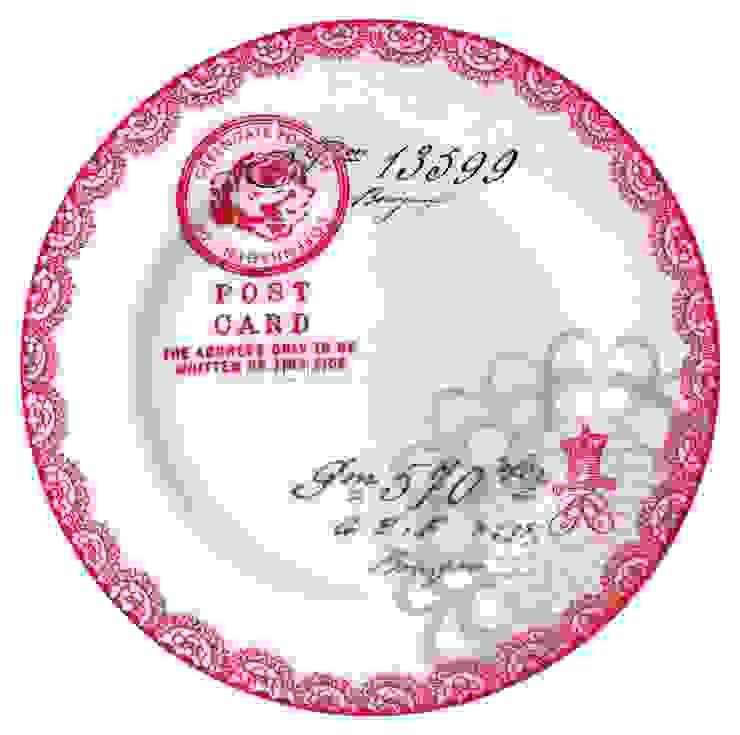 Тарелка большая GreenGate Fay Red G100 от LeHome Interiors Классический Керамика
