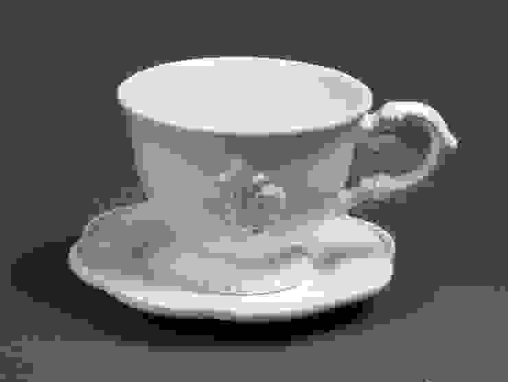 Кофейная пара (чашка и блюдце) V120 от LeHome Interiors Классический Керамика