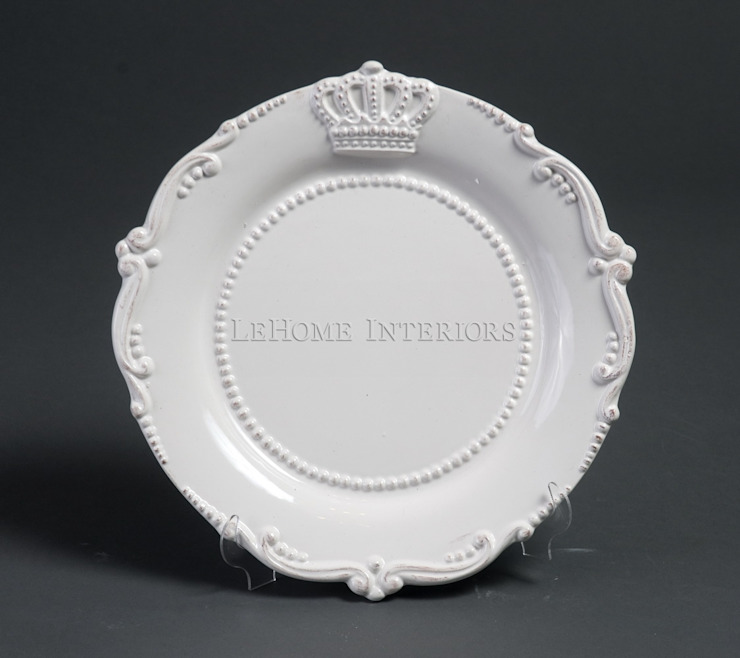 Тарелка (короны) V291 от LeHome Interiors Классический Керамика