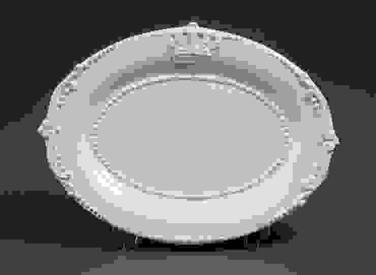 Блюдо овальное (короны) V295 от LeHome Interiors Классический Керамика