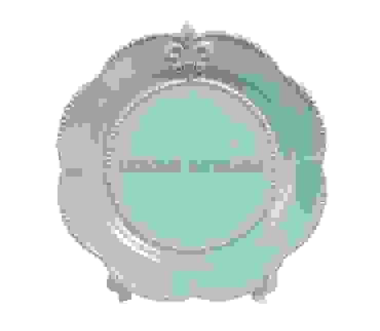 Тарелка (флер-де-лис) V298 от LeHome Interiors Классический Керамика