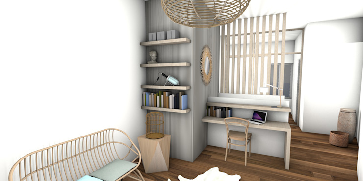Living room by Dem Design, Modern Wood Wood effect