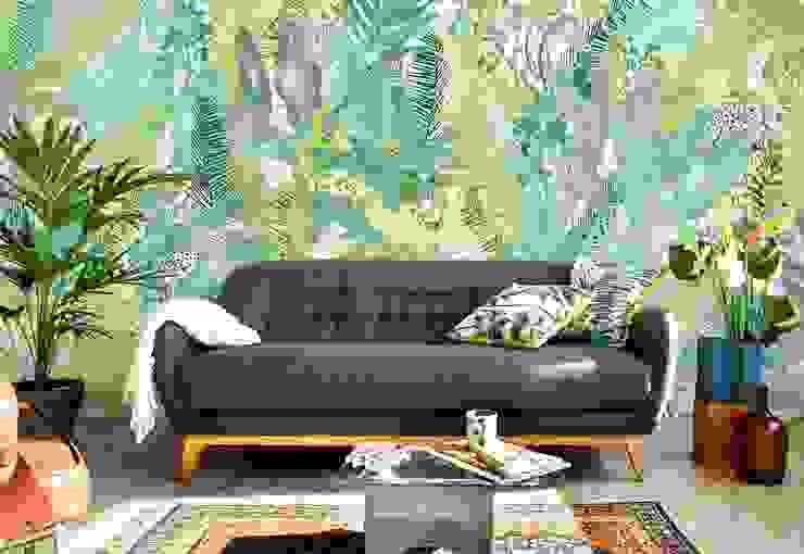 Bloompapers Paredes y pisosPapel tapiz Papel Verde
