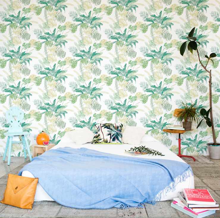 Bloompapers Walls & flooringWallpaper Paper Green
