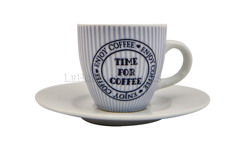 Кофейная пара V1061 от LeHome Interiors Классический Фарфор