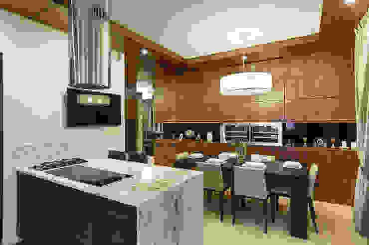 Modern Dining Room by Юдин и Новиков Дизайн-студия Modern