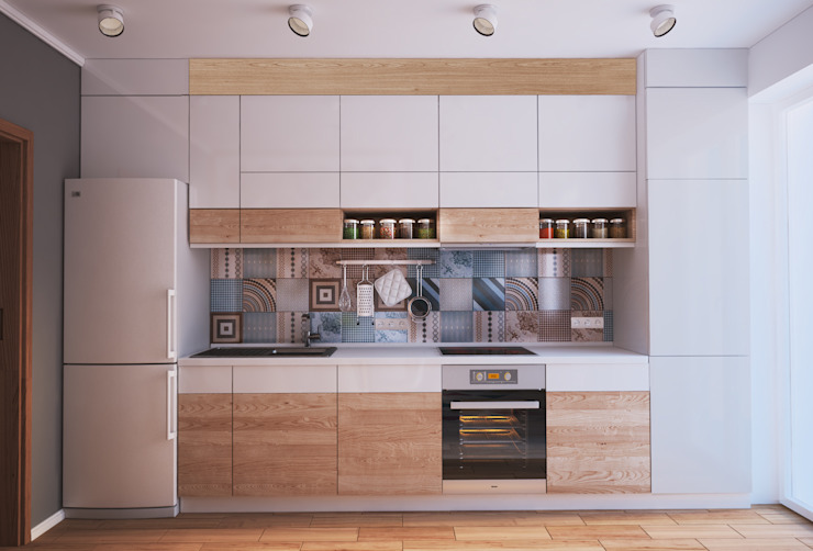 Kitchen Minimalist kitchen by Polygon arch&des Minimalist