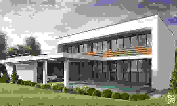 FAMILY HOUSE JW_09: styl , w kategorii Domy zaprojektowany przez Rover Building Company Europe,Nowoczesny
