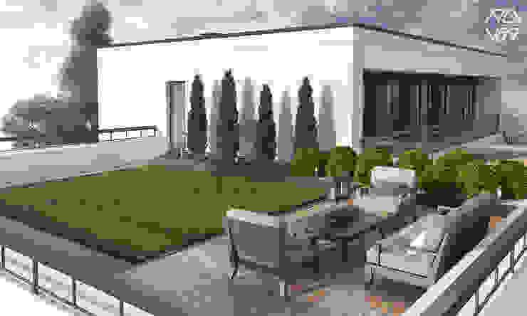 Modern Garden by Rover Building Company Europe Modern