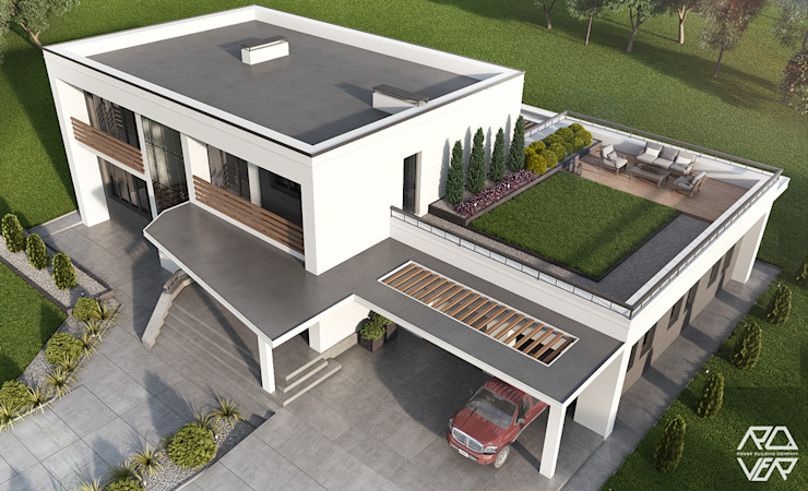 Modern Houses by Rover Building Company Europe Modern