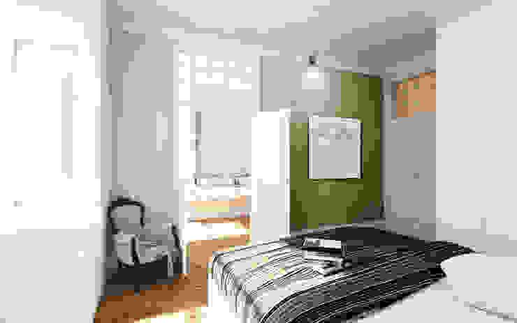 Bedroom by MATELIER ARQUITECTOS,