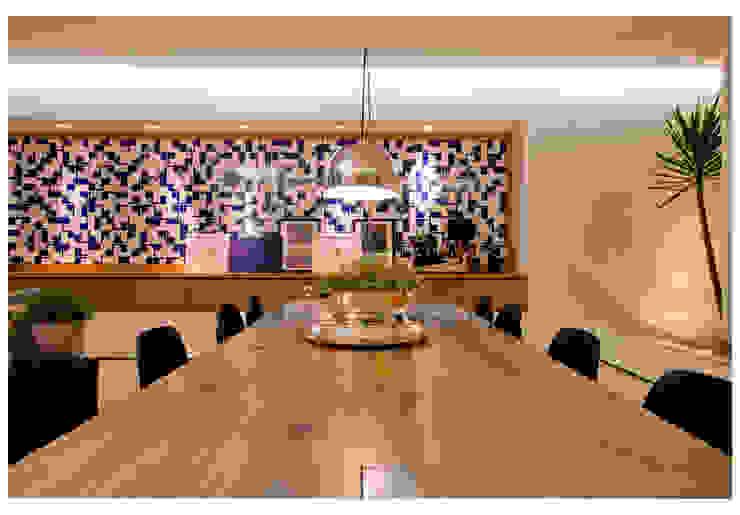 Casa Bulcão Salas de jantar modernas por ANDRÉ BRANDÃO + MÁRCIA VARIZO arquitetura e interiores Moderno