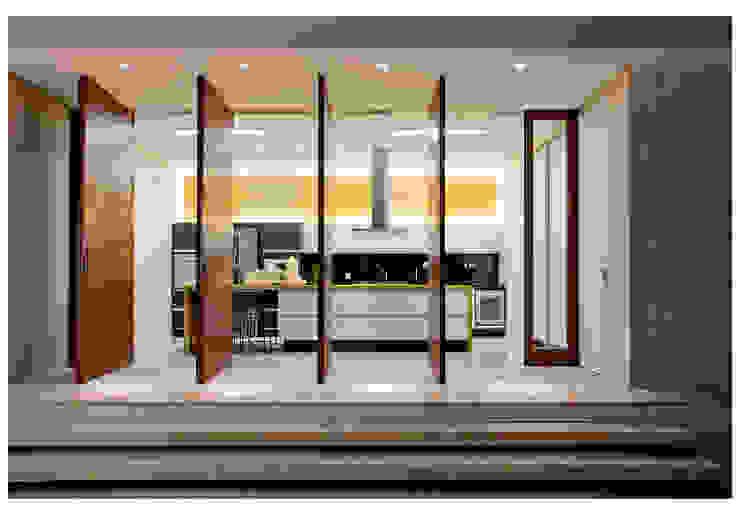 Casa Bulcão Cozinhas modernas por ANDRÉ BRANDÃO + MÁRCIA VARIZO arquitetura e interiores Moderno