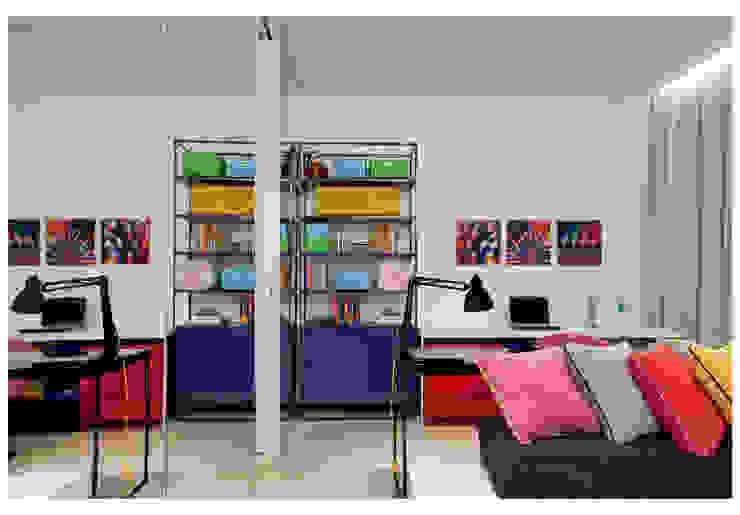 Casa Bulcão Quarto infantil moderno por ANDRÉ BRANDÃO + MÁRCIA VARIZO arquitetura e interiores Moderno
