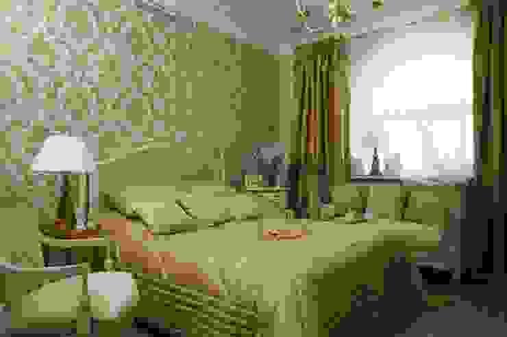 Верхняя спальня Спальня в классическом стиле от СТУДИЯ ЮЛИИ НЕСТЕРОВОЙ Классический
