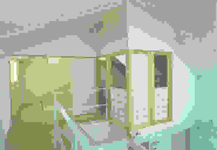 Moderne Geschäftsräume & Stores von 福井建築設計室 Modern Holz-Kunststoff-Verbund