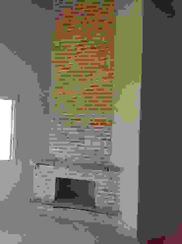 Salas de estilo rústico de Vanda Carobrezzi - Design de Interiores Rústico
