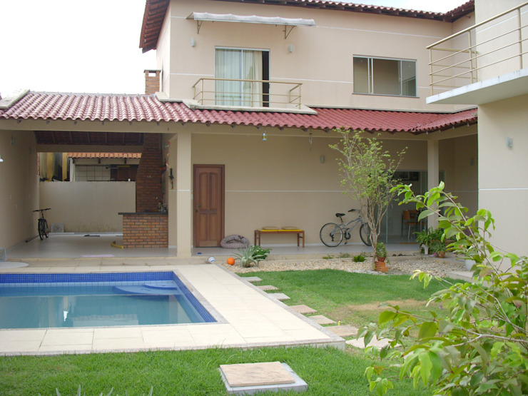 Allan Feio Arquitetura Casas de estilo ecléctico