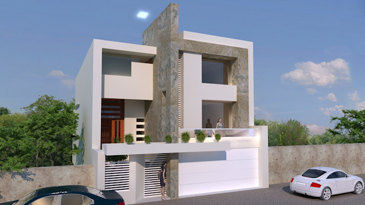CouturierStudio Modern houses