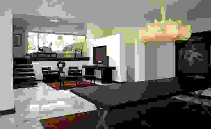 Salas modernas de Olivia Aldrete Haas Moderno