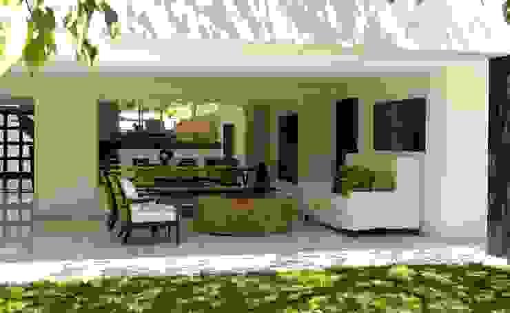 Corporativo Jardines modernos de Olivia Aldrete Haas Moderno