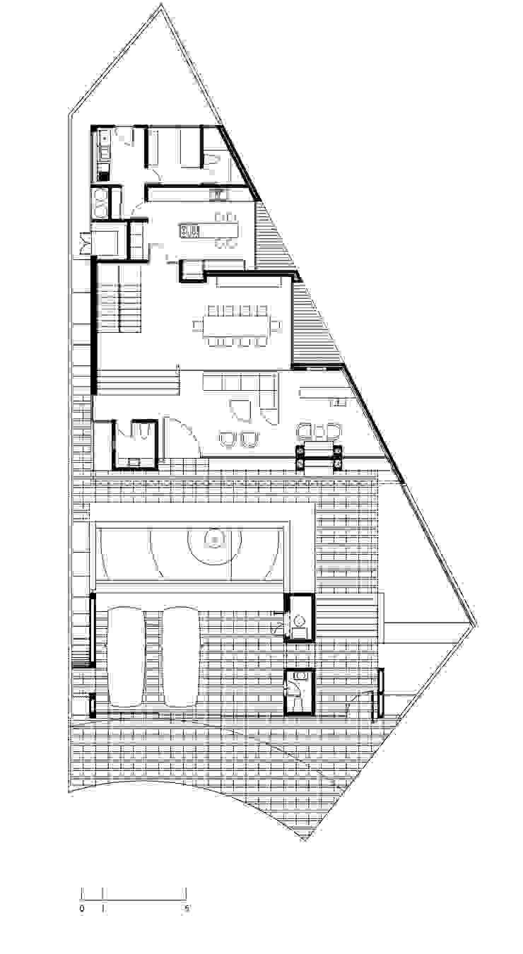 CASA TG de planeta diseño + construcción SA de CV Moderno