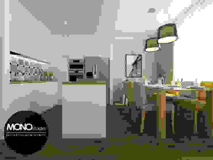 Cocinas modernas de MONOstudio Moderno Compuestos de madera y plástico