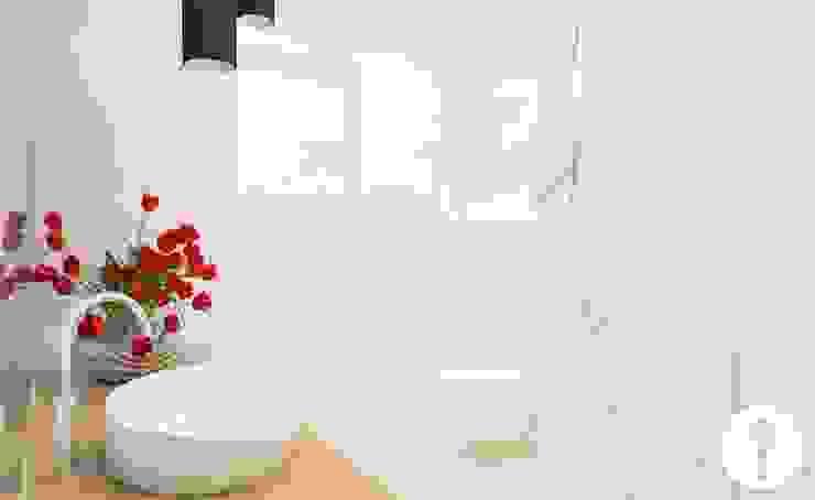 Rodzinne wnętrza Nowoczesna łazienka od Urządzamy pod klucz Nowoczesny