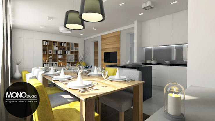 Cuisine moderne par MONOstudio Moderne Bois composite